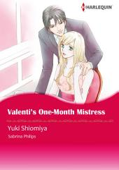 Valenti's One-Month Mistress: Harlequin Comics