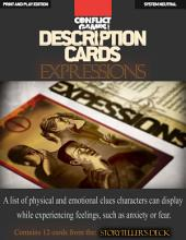 "Description Cards - Storytellers Deck - EXPRESSIONS excerpt - (Creative Inspiration for Writers, Storytellers and GMs).: Contains 12 Cards from the ""Description Cards - Storytellers Deck"""