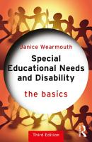 Special Educational Needs and Disability  The Basics PDF