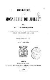 Histoire de la monarchie de juillet: Volume2