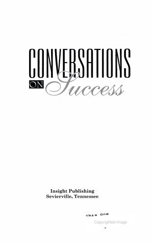 Conversations on Success PDF
