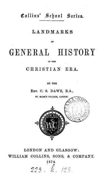 Download Landmarks of General History in the Christian Era Book