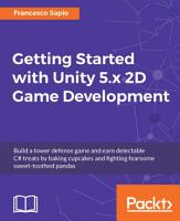 Getting Started with Unity 5 x 2D Game Development PDF