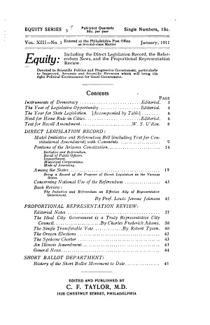 Equity Series PDF