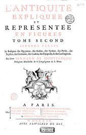 L'Antiquité expliquée et représentée en figures: Volume2,Partie1