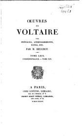 Oeuvres de Voltaire: Volume69