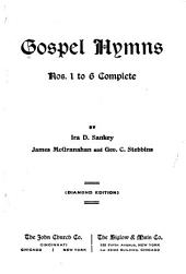Gospel Hymns Nos. 1 to 6 Complete