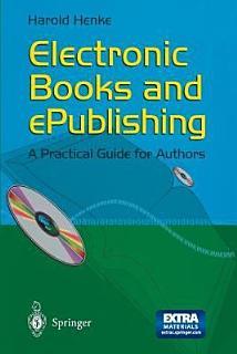 Electronic Books and ePublishing Book