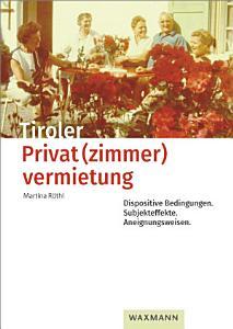 Tiroler Privat zimmer vermietung PDF