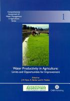 Water Productivity in Agriculture PDF