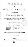 A Collection of State Papers PDF