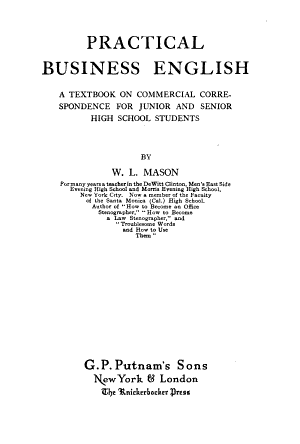 Practical Business English PDF
