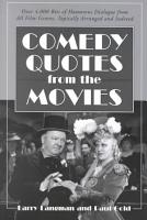 Comedy Quotes from the Movies PDF