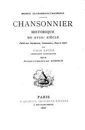 Chansonnier historique du XVIIIe siècle: Volume3