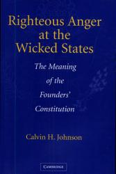 Righteous Anger At The Wicked States Book PDF