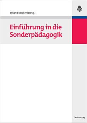 Einf  hrung in die Sonderp  dagogik PDF