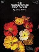 Older Beginner Piano Course