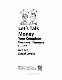 Let s Talk Money
