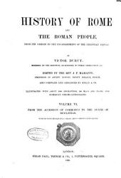 History of Rome and the Roman People: From Its Origin to the Establishment of the Christian Empire, Volume 6