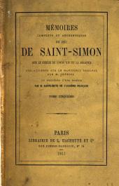 Mʹemoirs complets et authentiques du duc de Saint-Simon sur le siècle du Louis XIV et la rʹegence: Volume5