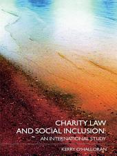 Charity Law and Social Inclusion: An International Study