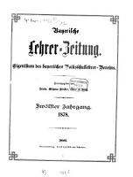 Bayerische Lehrerzeitung0 PDF