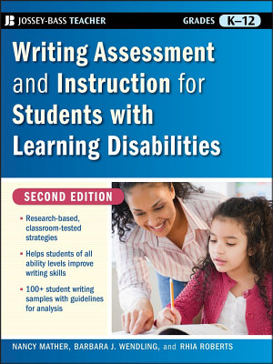 Writing Assessment and Instruction for Students with Learning Disabilities PDF
