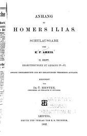 Anhang zu Homers Ilias: Band 2