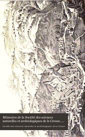 Mémoires de la Société des sciences naturelles et archéologiques de la Creuse, Guberet: Volume14