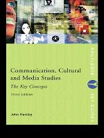 Communication  Cultural and Media Studies  The Key Concepts PDF