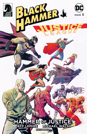 Black Hammer Justice League  Hammer of Justice   5