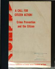 A Call for Citizen Action  Crime Prevention and the Citizen PDF