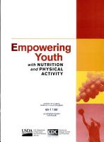 Empowering Youth with Nutrition and Physical Activity PDF