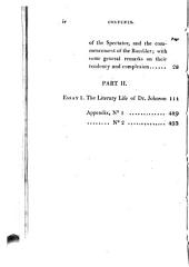 Essays: Biographical, Critical, and Historical; Illustrative of the Rambler, Adventurer & Idler ; and of the Various Periodical Papers Which, in Imitation of the Writings of Steele and Addison, Have Been Published Between the Close of the Eight Volume of the Spectator and the Commencement of the Year 1809, Volume 1
