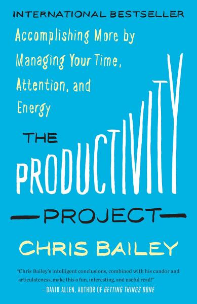 Download The Productivity Project Book
