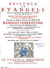 Epistole ed Evangeli, che si leggono tutto l'anno alle messe...