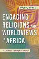 Engaging Religions and Worldviews in Africa PDF