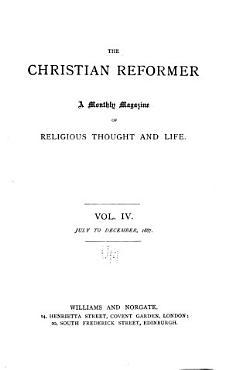 The Christian Reformer PDF