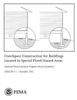 Crawlspace Construction for Buildings Located in Special Flood Hazard Areas  National Flood Insurance Program Interim Guidance PDF