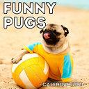Funny Pugs Calendar 2021