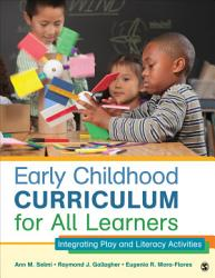 Early Childhood Curriculum For All Learners Book PDF