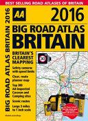 Big Road Atlas Britain 2016