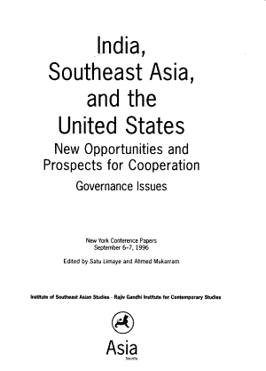 India, Southeast Asia, and the United States