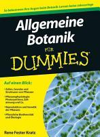 Allgemeine Botanik f  r Dummies PDF