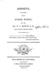 Sonnets, with Other Poems,