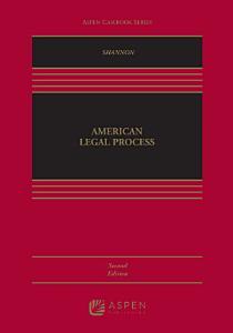 American Legal Process PDF