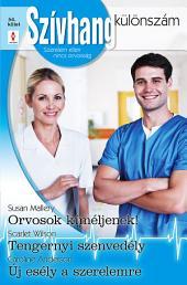 Szívhang különszám 54. kötet: Orvosok kíméljenek!, Tengernyi szenvedély, Új esély a szerelmre