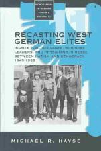 Recasting West German Elites PDF