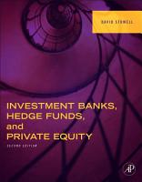 Investment Banks  Hedge Funds  and Private Equity PDF