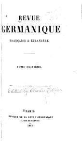 Revue moderne: Volume16